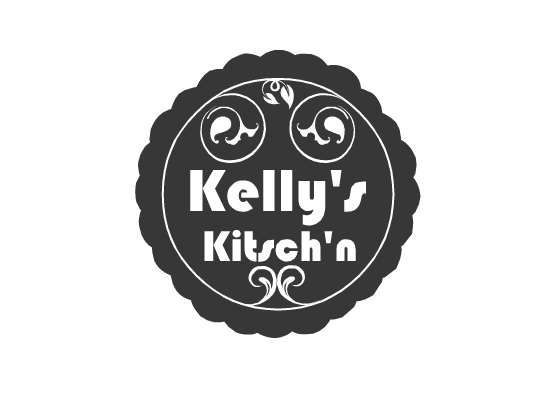 Logo Design by Ismail Adhi Wibowo - Entry No. 2 in the Logo Design Contest Unique Logo Design Wanted for Kelly's Kitsch'n.