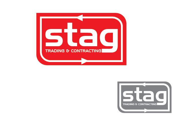Logo Design by Private User - Entry No. 119 in the Logo Design Contest Captivating Logo Design for STAG Trading & Contracting.