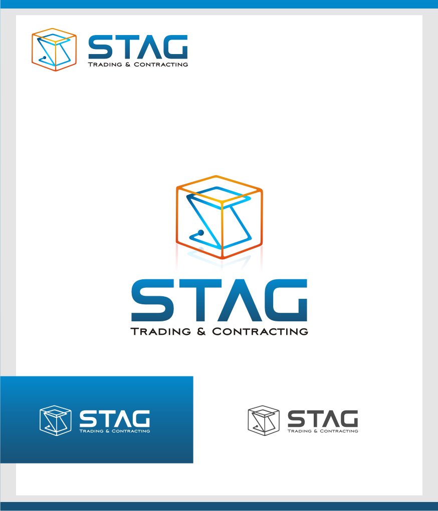 Logo Design by graphicleaf - Entry No. 121 in the Logo Design Contest Captivating Logo Design for STAG Trading & Contracting.