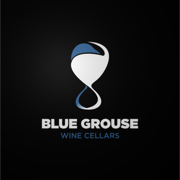 Logo Design by Private User - Entry No. 244 in the Logo Design Contest Creative Logo Design for Blue Grouse Wine Cellars.