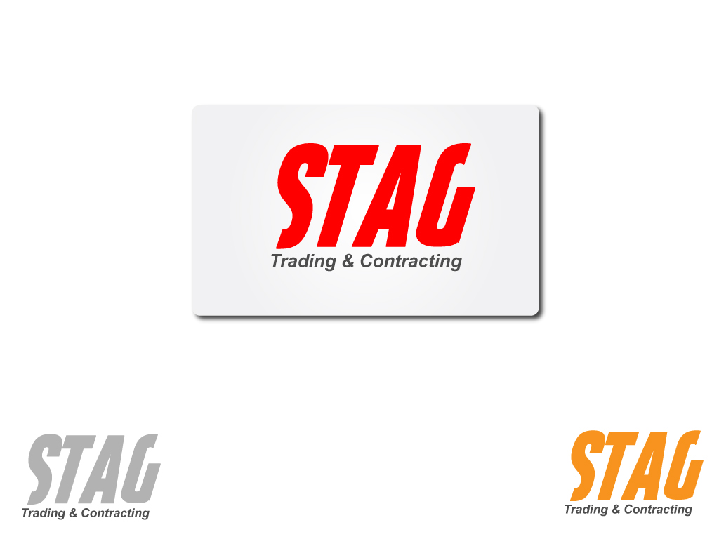 Logo Design by Jagdeep Singh - Entry No. 125 in the Logo Design Contest Captivating Logo Design for STAG Trading & Contracting.