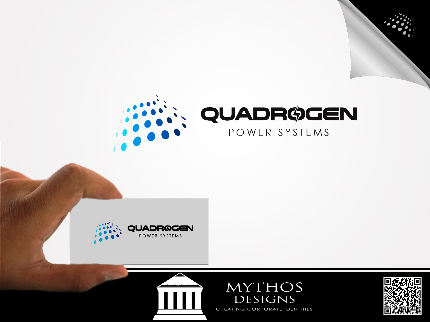 Logo Design by Mythos Designs - Entry No. 28 in the Logo Design Contest New Logo Design for Quadrogen Power Systems, Inc.