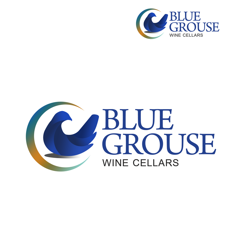 Logo Design by Private User - Entry No. 249 in the Logo Design Contest Creative Logo Design for Blue Grouse Wine Cellars.