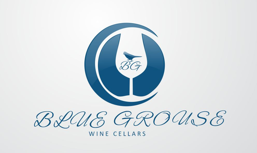 Logo Design by Tenstar Design - Entry No. 252 in the Logo Design Contest Creative Logo Design for Blue Grouse Wine Cellars.