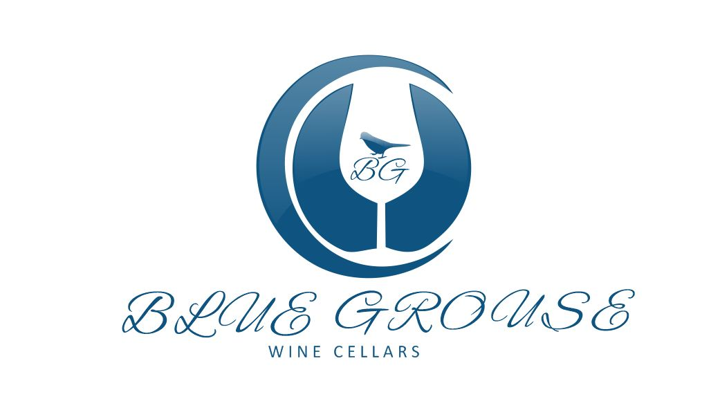 Logo Design by Tenstar Design - Entry No. 253 in the Logo Design Contest Creative Logo Design for Blue Grouse Wine Cellars.