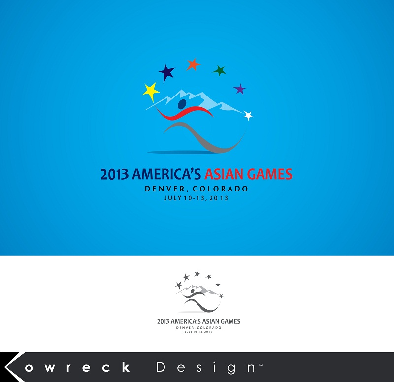 Logo Design by kowreck - Entry No. 10 in the Logo Design Contest New Logo Design for America's Asian Games.
