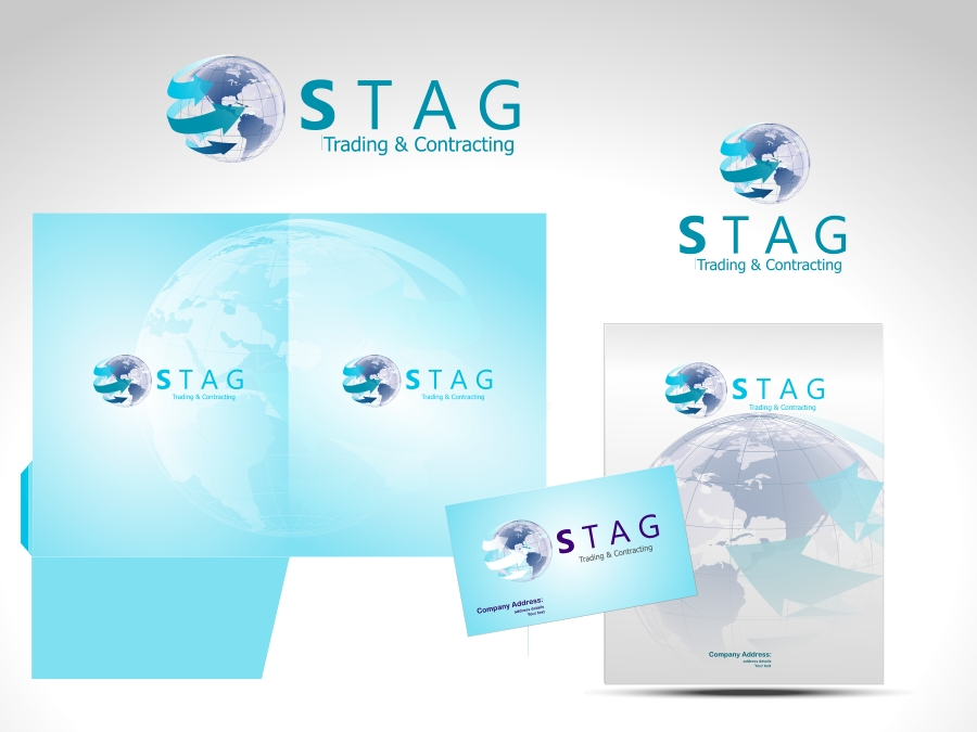 Logo Design by Private User - Entry No. 138 in the Logo Design Contest Captivating Logo Design for STAG Trading & Contracting.