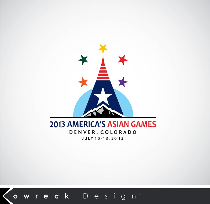 Logo Design by kowreck - Entry No. 11 in the Logo Design Contest New Logo Design for America's Asian Games.