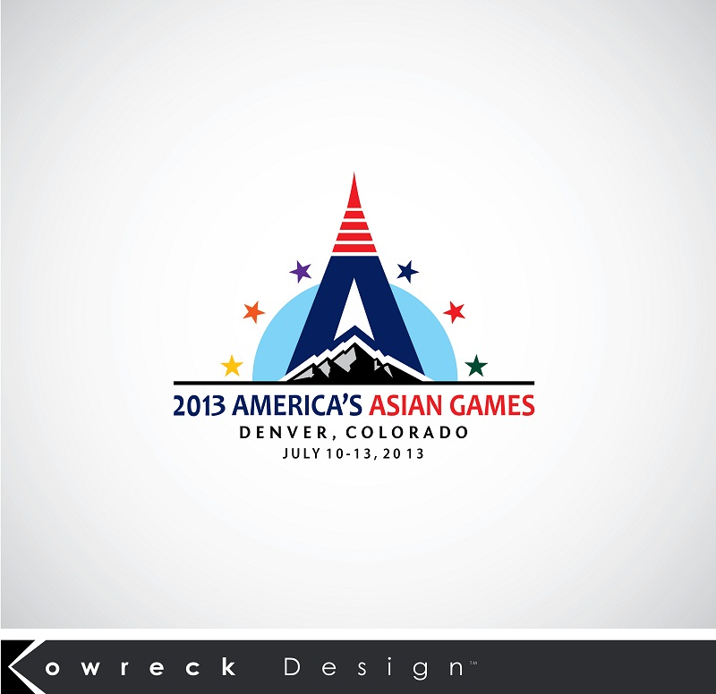 Logo Design by kowreck - Entry No. 12 in the Logo Design Contest New Logo Design for America's Asian Games.