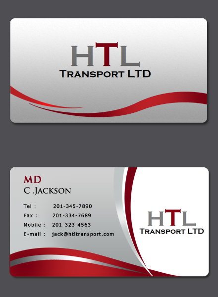 business card design contests a fun business card design for htl