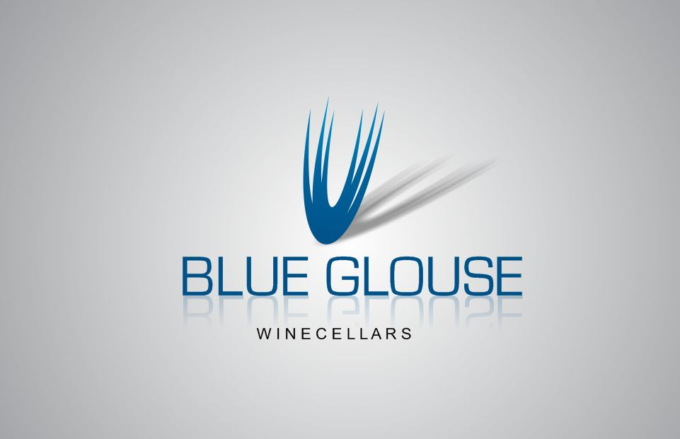 Logo Design by Tenstar Design - Entry No. 256 in the Logo Design Contest Creative Logo Design for Blue Grouse Wine Cellars.