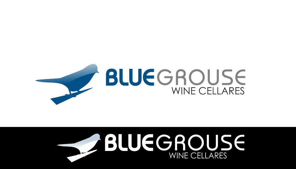 Logo Design by Tenstar Design - Entry No. 257 in the Logo Design Contest Creative Logo Design for Blue Grouse Wine Cellars.