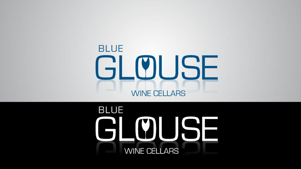 Logo Design by Tenstar Design - Entry No. 258 in the Logo Design Contest Creative Logo Design for Blue Grouse Wine Cellars.