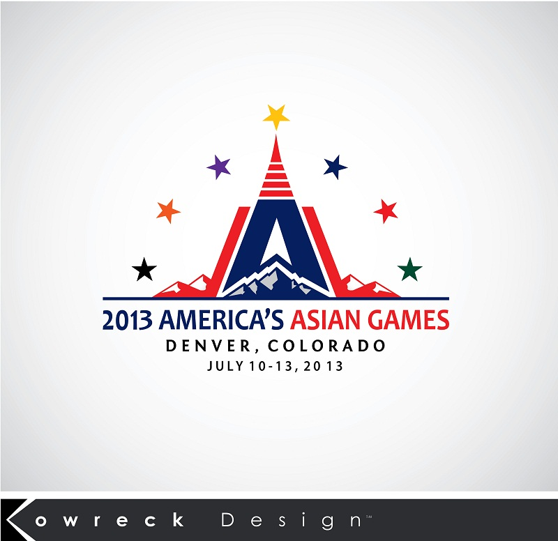 Logo Design by kowreck - Entry No. 13 in the Logo Design Contest New Logo Design for America's Asian Games.