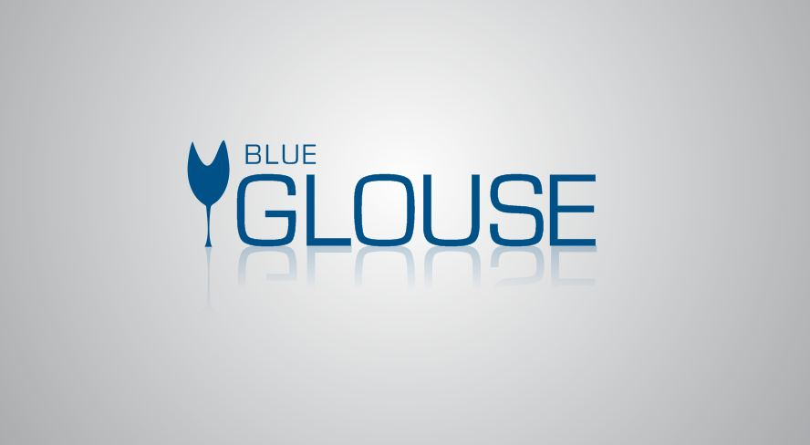 Logo Design by Tenstar Design - Entry No. 259 in the Logo Design Contest Creative Logo Design for Blue Grouse Wine Cellars.