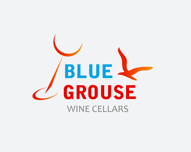 Logo Design by Private User - Entry No. 260 in the Logo Design Contest Creative Logo Design for Blue Grouse Wine Cellars.