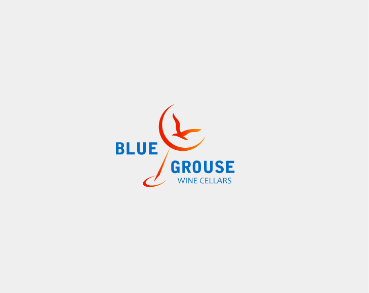 Logo Design by Private User - Entry No. 262 in the Logo Design Contest Creative Logo Design for Blue Grouse Wine Cellars.