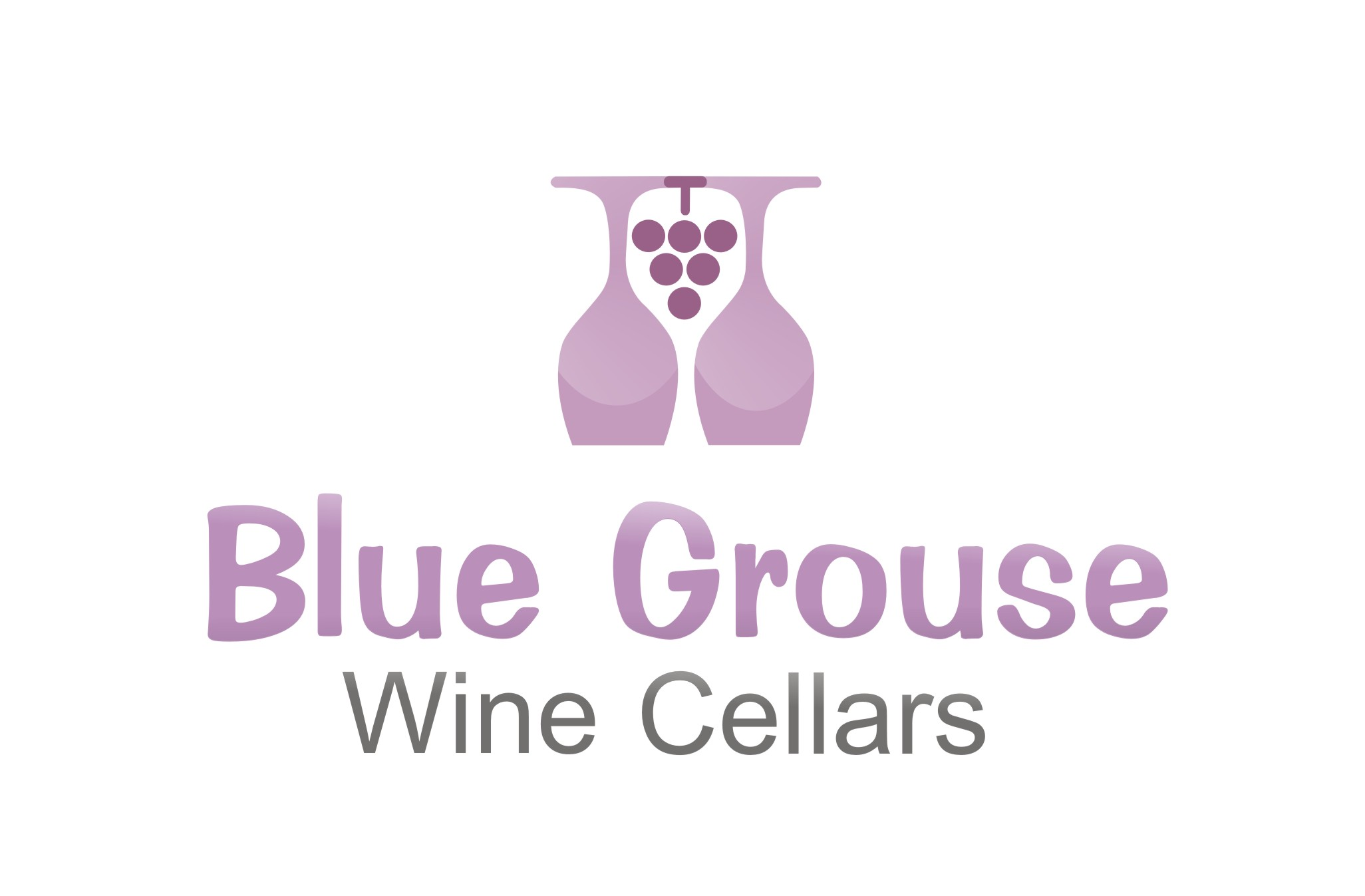 Logo Design by Shailender Kumar - Entry No. 264 in the Logo Design Contest Creative Logo Design for Blue Grouse Wine Cellars.