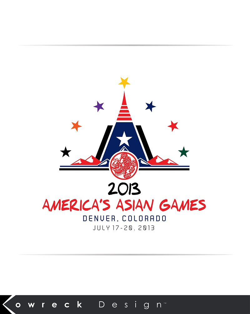 Logo Design by kowreck - Entry No. 16 in the Logo Design Contest New Logo Design for America's Asian Games.
