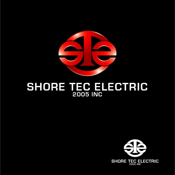 Logo Design by IM3D - Entry No. 188 in the Logo Design Contest Shore Tec Electric 2005 Inc.