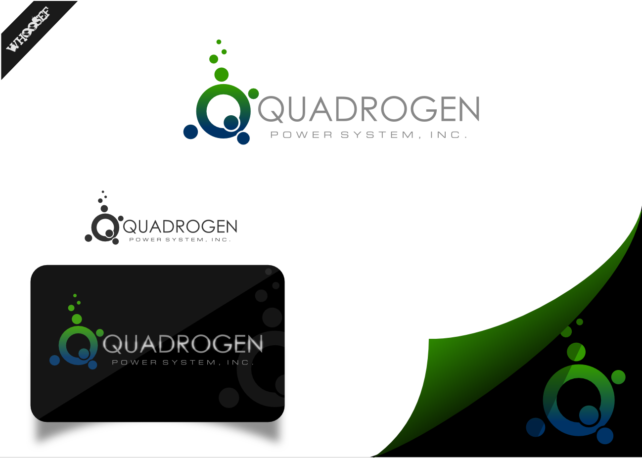 Logo Design by whoosef - Entry No. 38 in the Logo Design Contest New Logo Design for Quadrogen Power Systems, Inc.