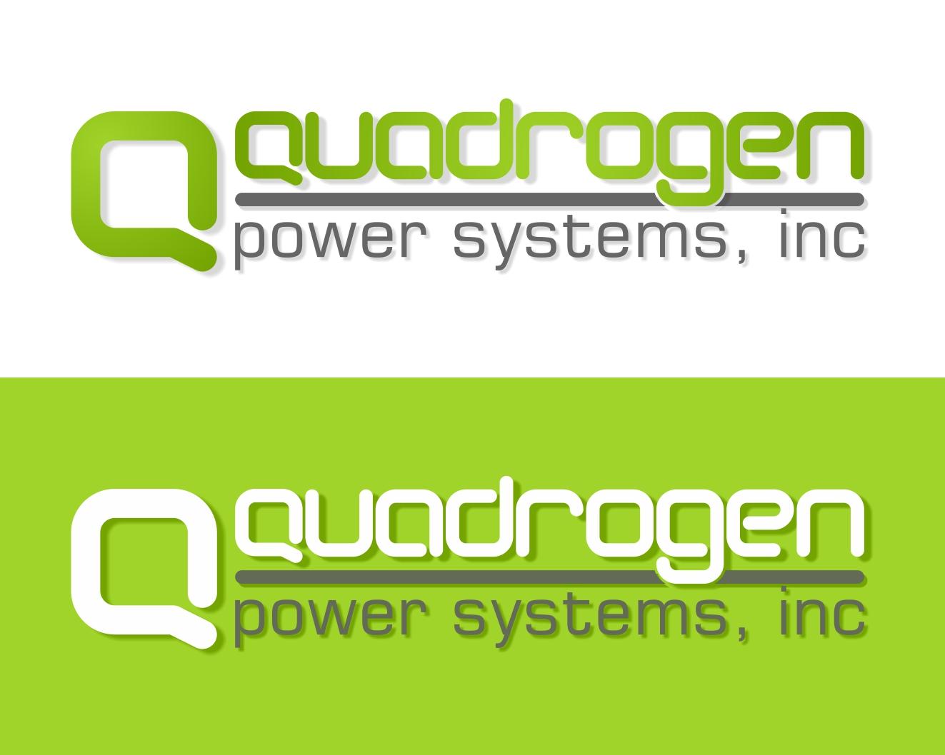 Logo Design by Rares.Andrei - Entry No. 40 in the Logo Design Contest New Logo Design for Quadrogen Power Systems, Inc.