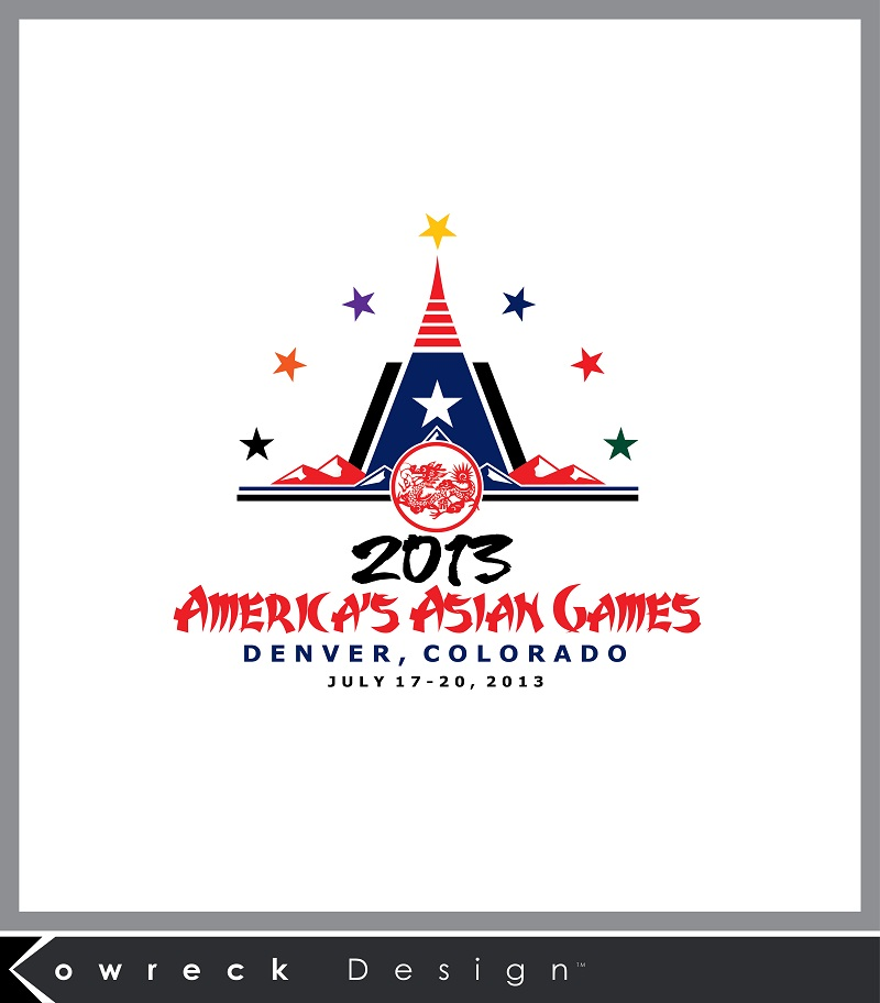 Logo Design by kowreck - Entry No. 18 in the Logo Design Contest New Logo Design for America's Asian Games.
