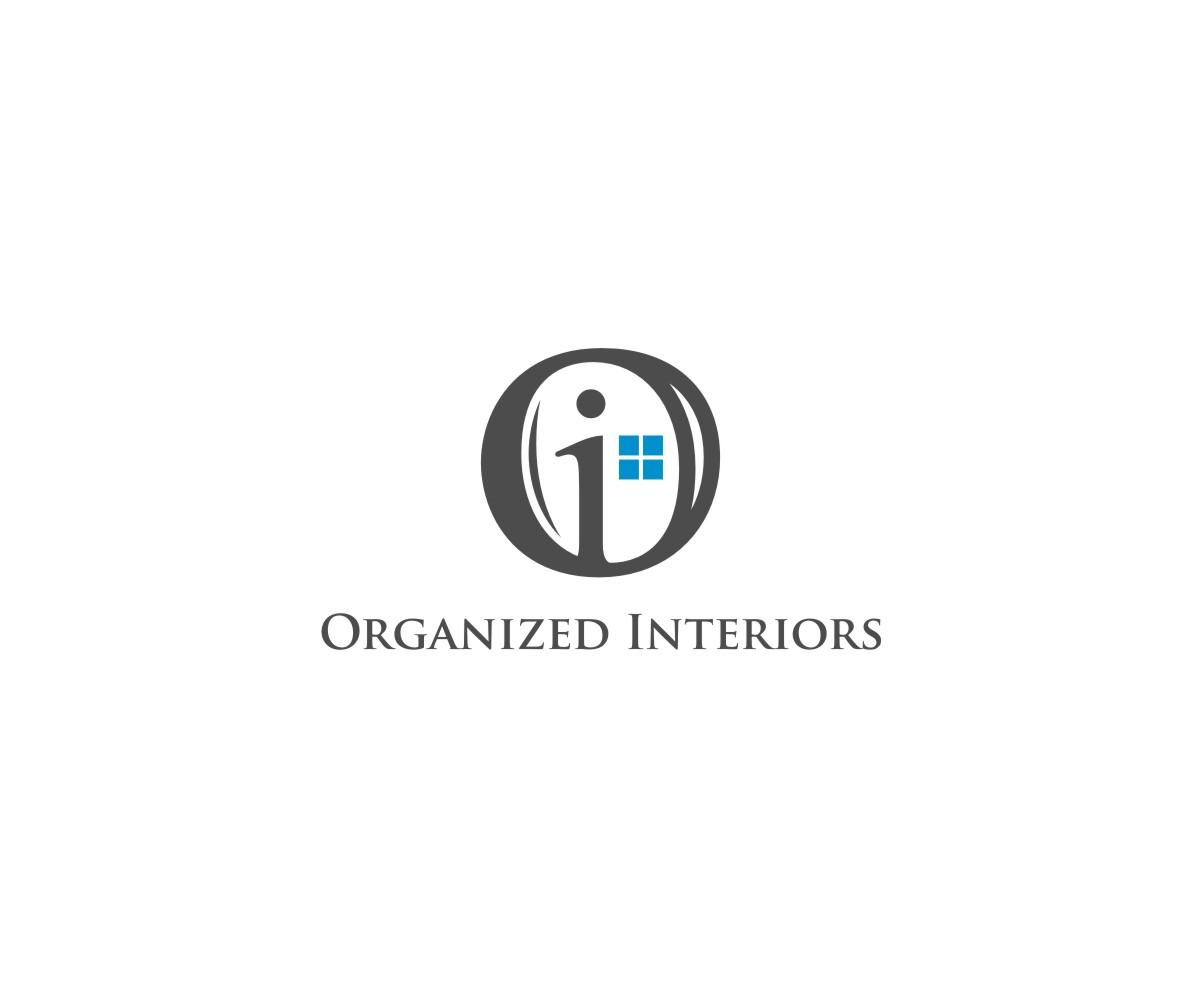 Logo Design by untung - Entry No. 10 in the Logo Design Contest Imaginative Logo Design for Organized Interiors.