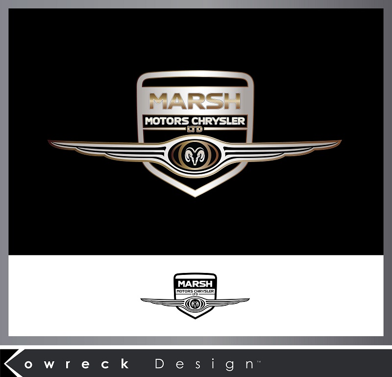Logo Design by kowreck - Entry No. 5 in the Logo Design Contest Marsh Motors Chrysler Logo Design.
