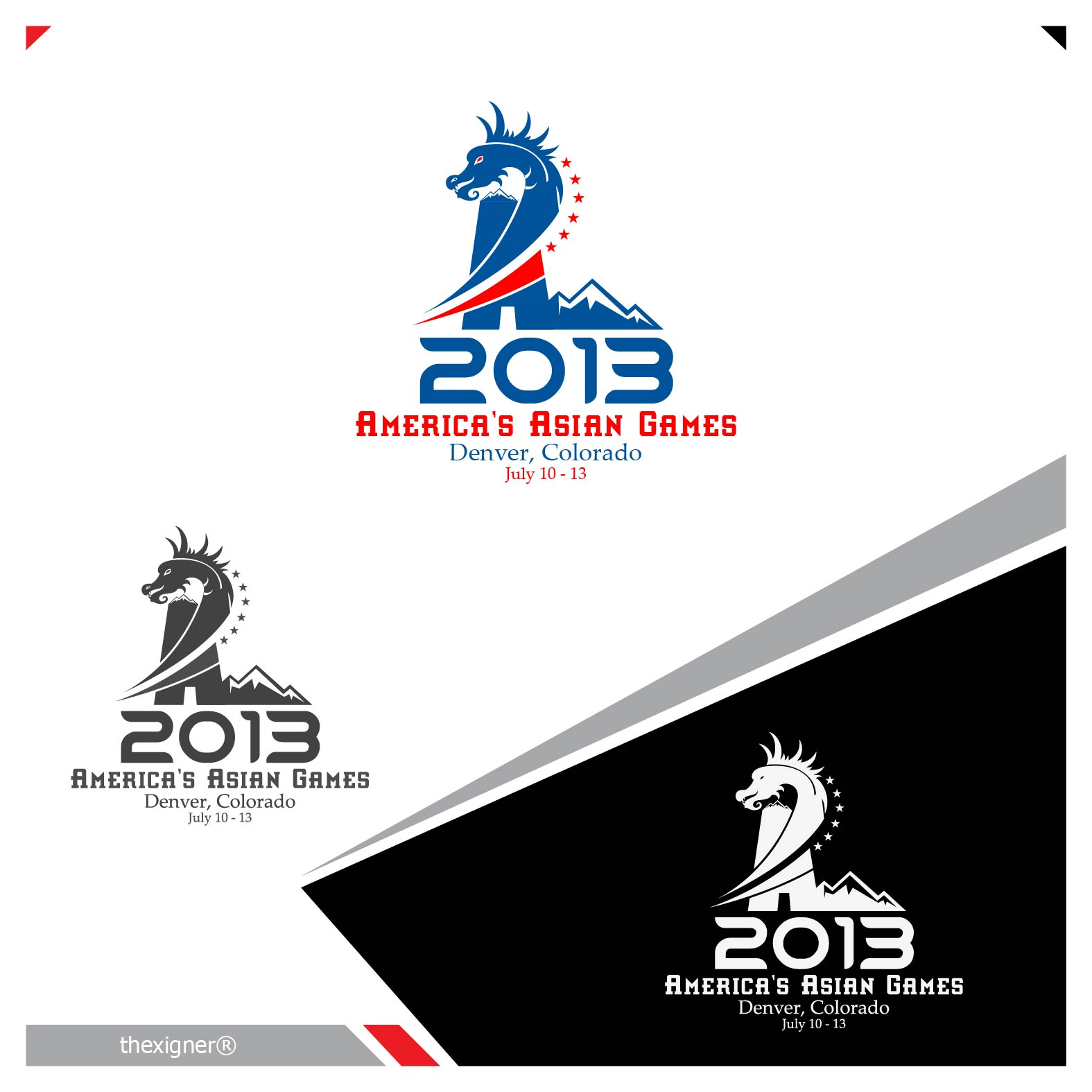 Logo Design by lagalag - Entry No. 19 in the Logo Design Contest New Logo Design for America's Asian Games.