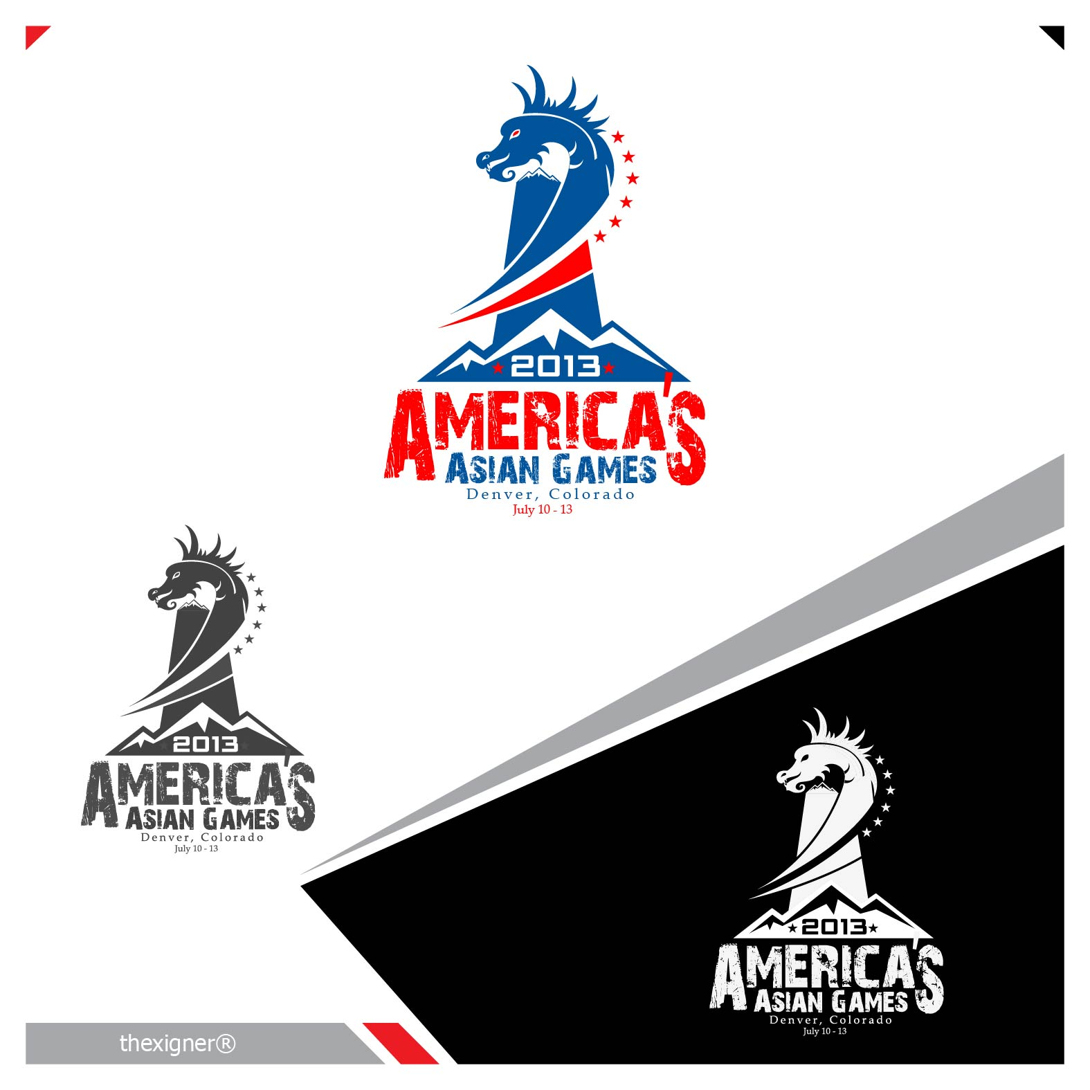 Logo Design by lagalag - Entry No. 20 in the Logo Design Contest New Logo Design for America's Asian Games.