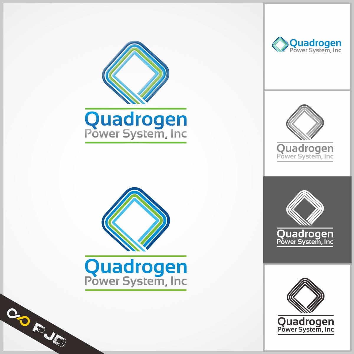 Logo Design by PJD - Entry No. 48 in the Logo Design Contest New Logo Design for Quadrogen Power Systems, Inc.