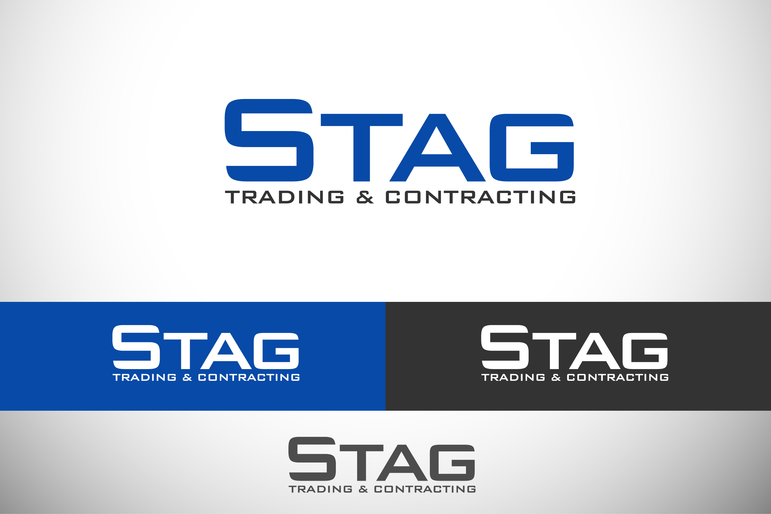 Logo Design by Private User - Entry No. 144 in the Logo Design Contest Captivating Logo Design for STAG Trading & Contracting.