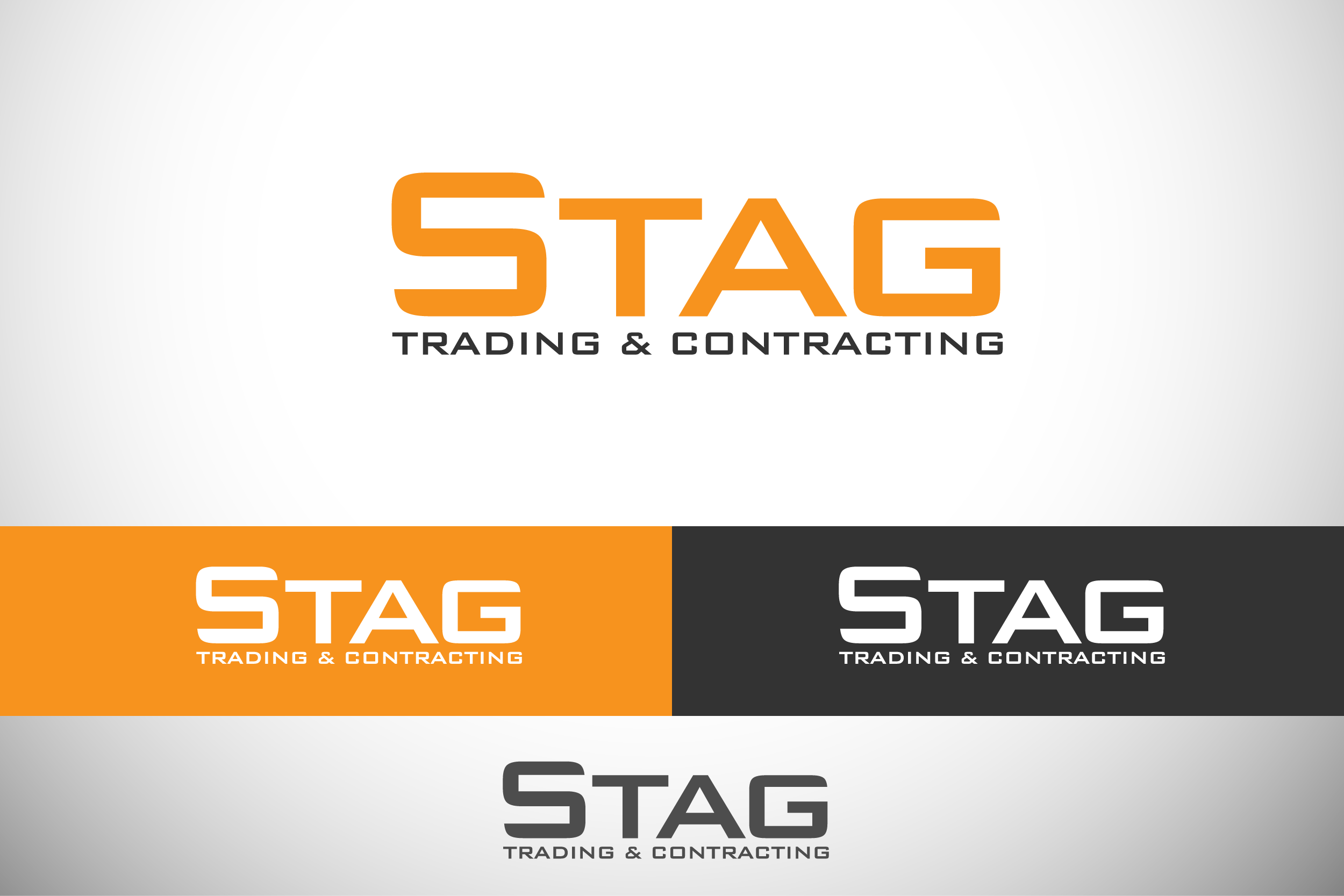 Logo Design by Private User - Entry No. 145 in the Logo Design Contest Captivating Logo Design for STAG Trading & Contracting.