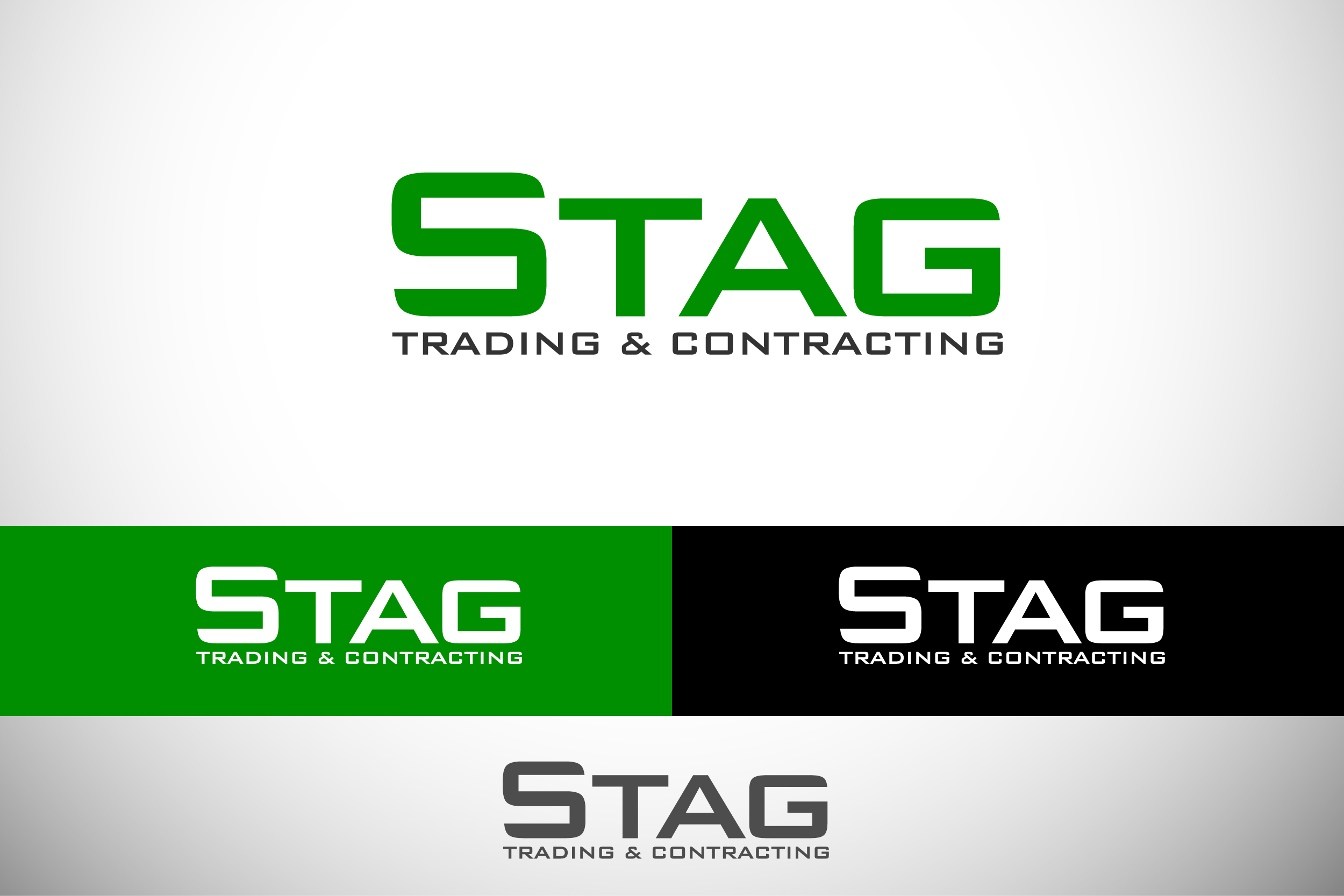 Logo Design by Private User - Entry No. 146 in the Logo Design Contest Captivating Logo Design for STAG Trading & Contracting.