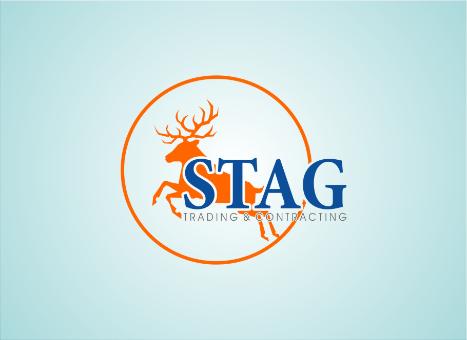Logo Design by RoSyid Rono-Rene On Java - Entry No. 150 in the Logo Design Contest Captivating Logo Design for STAG Trading & Contracting.