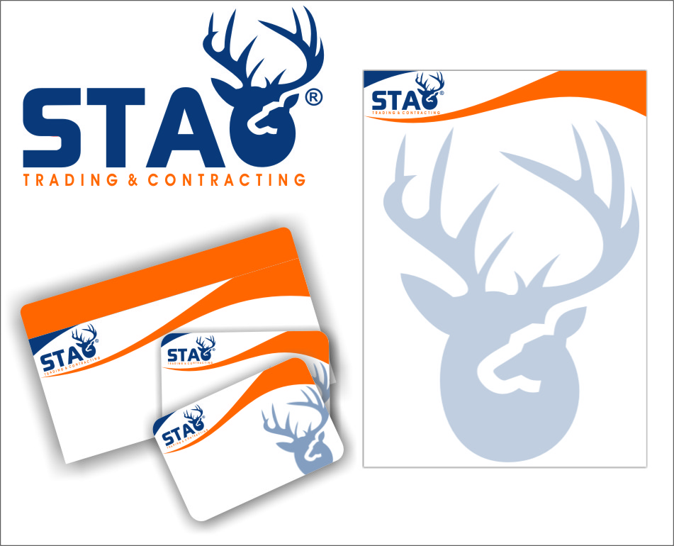 Logo Design by RasYa Muhammad Athaya - Entry No. 151 in the Logo Design Contest Captivating Logo Design for STAG Trading & Contracting.