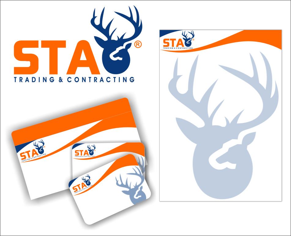 Logo Design by Ngepet_art - Entry No. 152 in the Logo Design Contest Captivating Logo Design for STAG Trading & Contracting.
