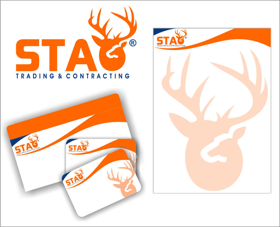 Logo Design by RasYa Muhammad Athaya - Entry No. 153 in the Logo Design Contest Captivating Logo Design for STAG Trading & Contracting.