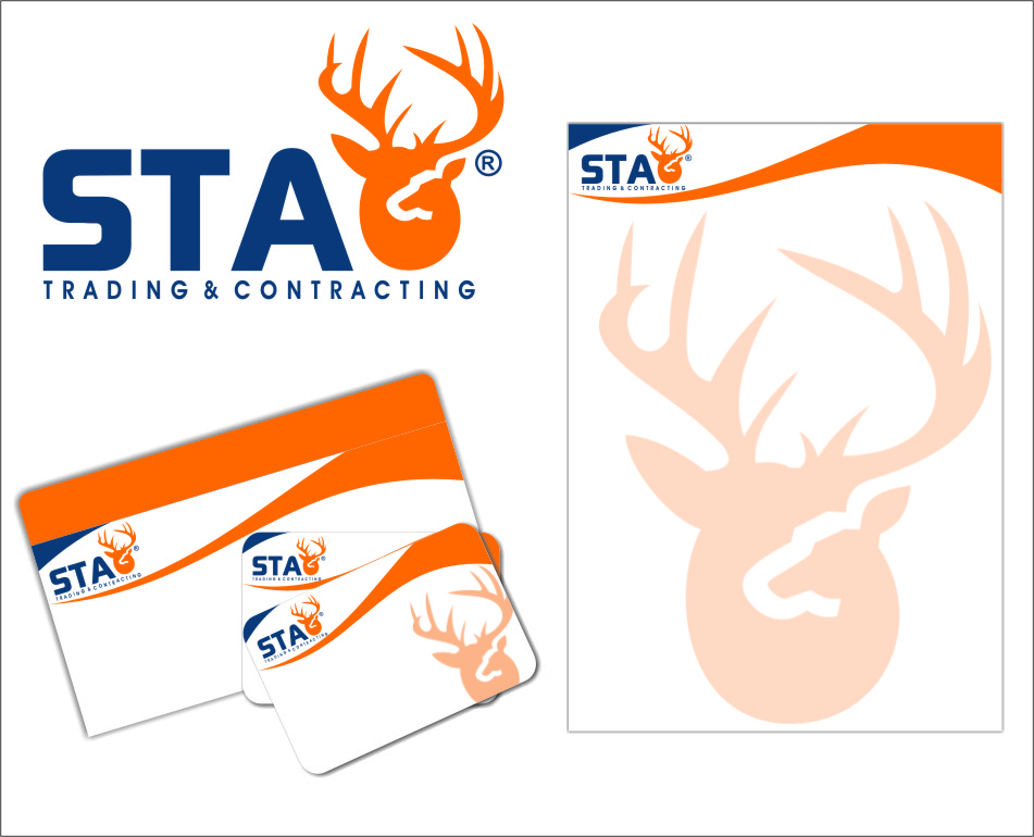 Logo Design by RasYa Muhammad Athaya - Entry No. 154 in the Logo Design Contest Captivating Logo Design for STAG Trading & Contracting.