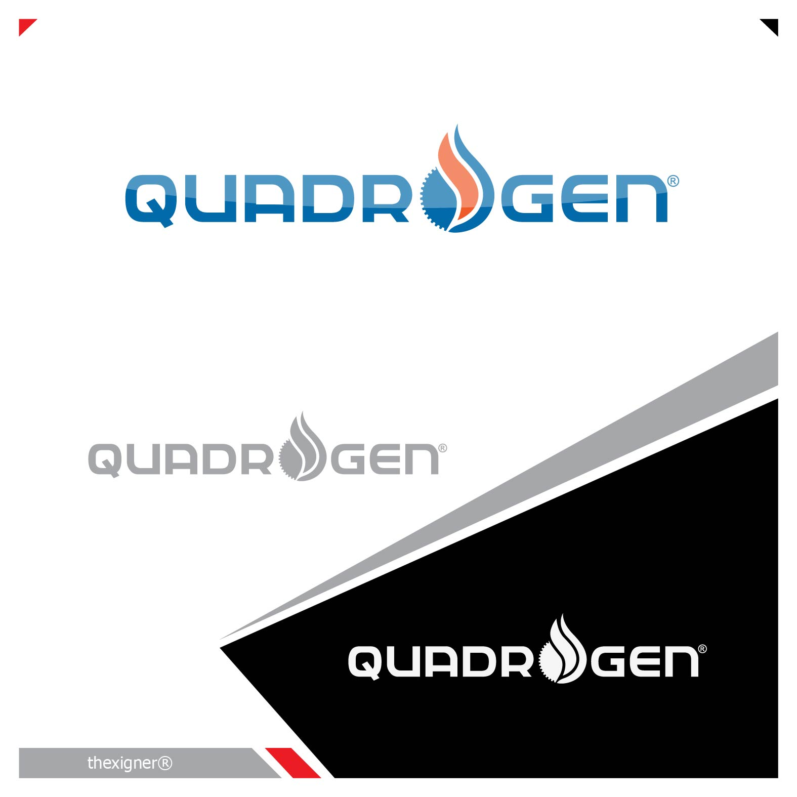 Logo Design by lagalag - Entry No. 60 in the Logo Design Contest New Logo Design for Quadrogen Power Systems, Inc.