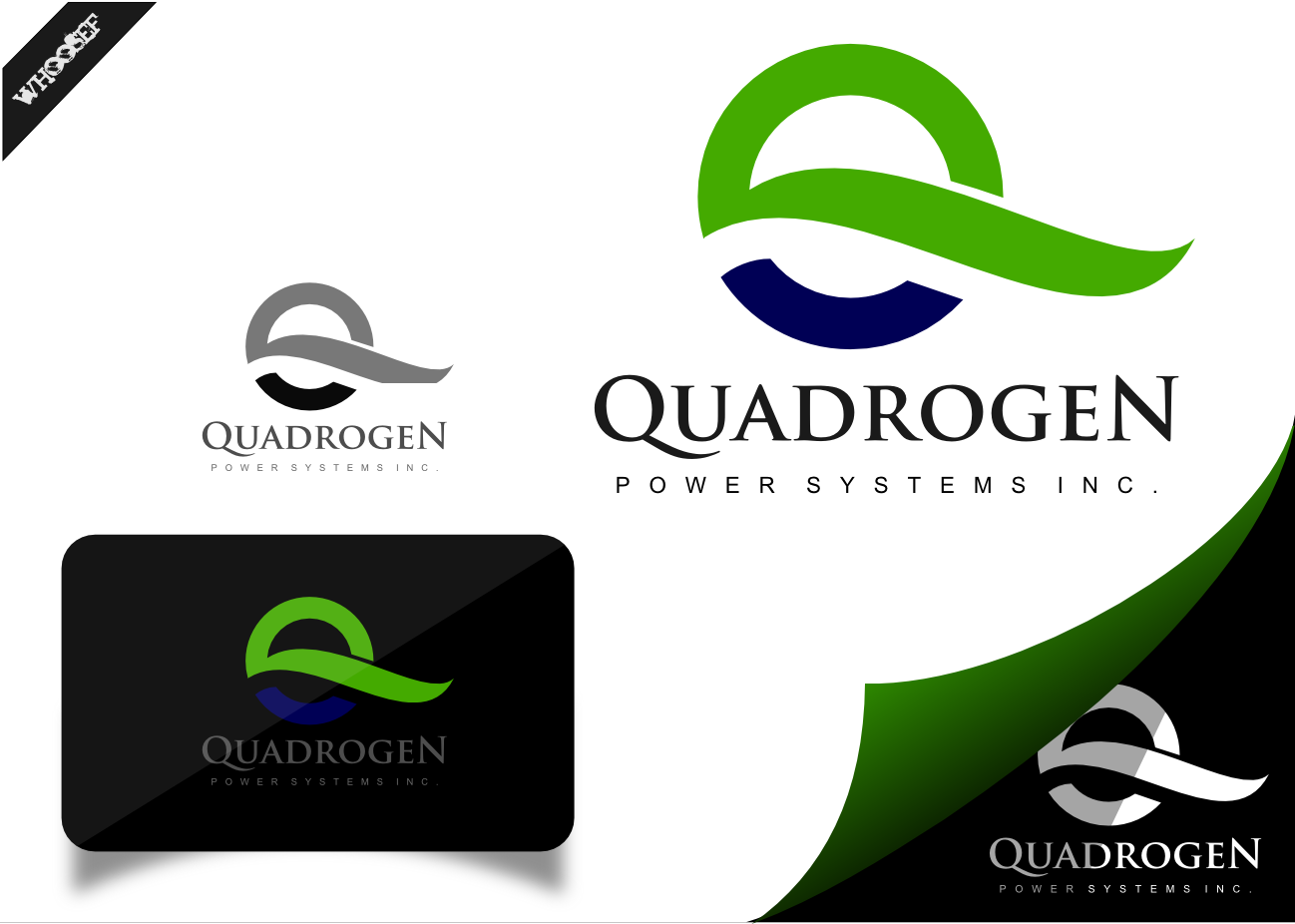 Logo Design by whoosef - Entry No. 62 in the Logo Design Contest New Logo Design for Quadrogen Power Systems, Inc.