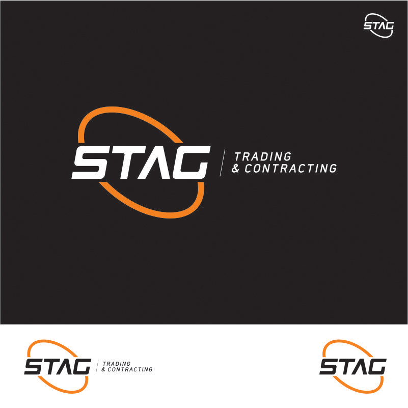 Logo Design by Private User - Entry No. 156 in the Logo Design Contest Captivating Logo Design for STAG Trading & Contracting.