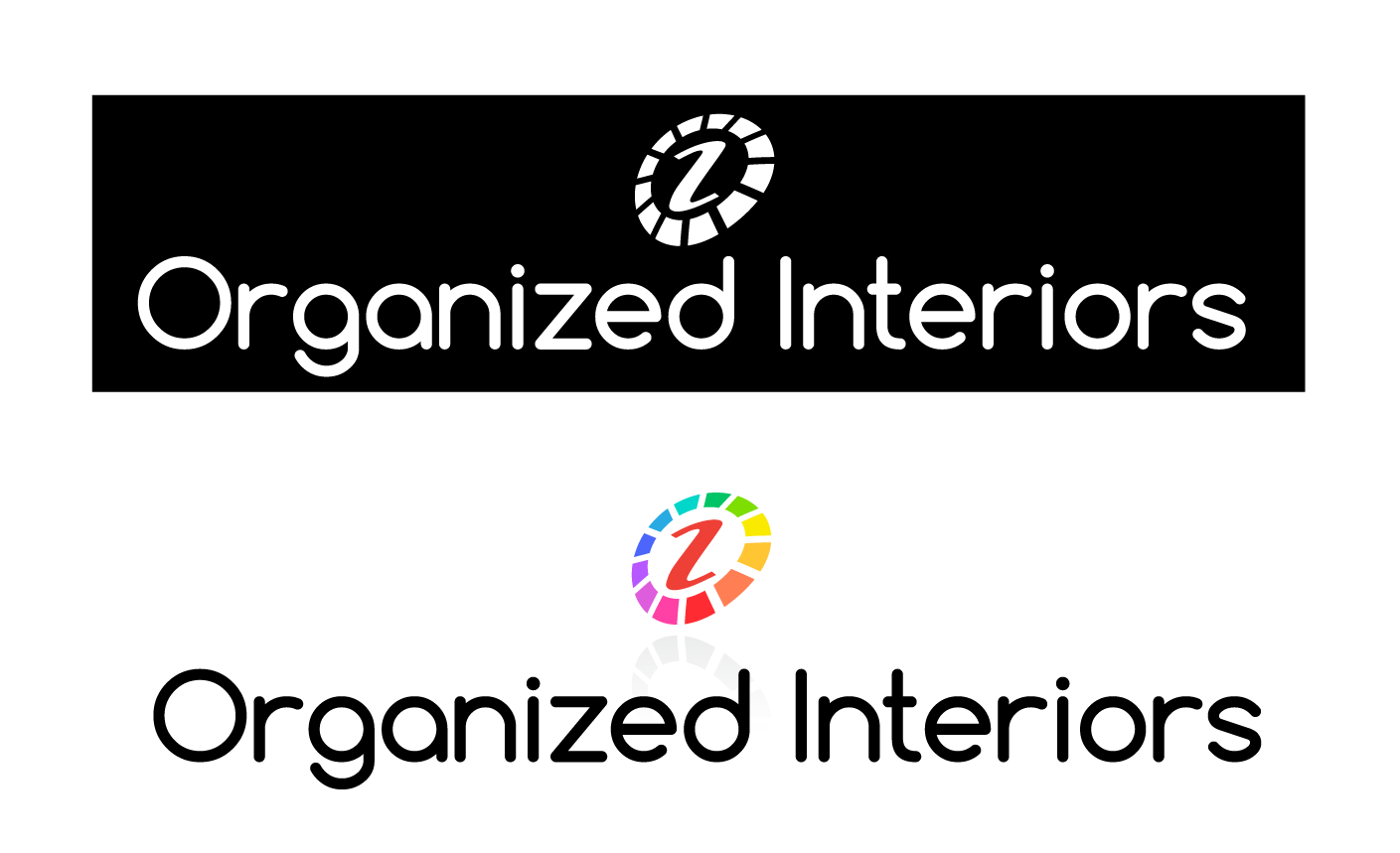 Logo Design by 354studio - Entry No. 12 in the Logo Design Contest Imaginative Logo Design for Organized Interiors.