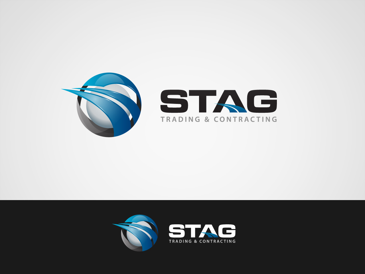Logo Design by jpbituin - Entry No. 157 in the Logo Design Contest Captivating Logo Design for STAG Trading & Contracting.