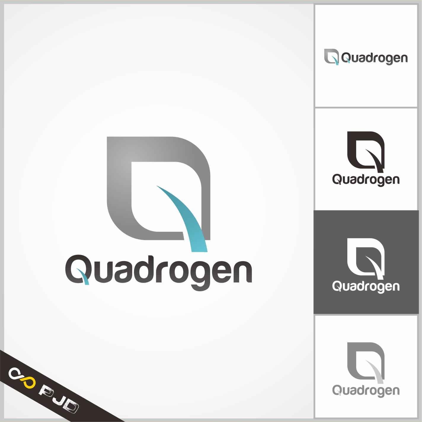 Logo Design by PJD - Entry No. 73 in the Logo Design Contest New Logo Design for Quadrogen Power Systems, Inc.