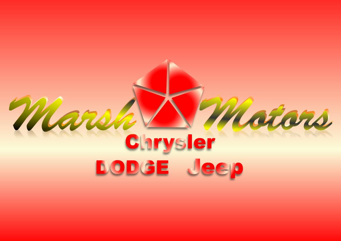 Logo Design by Heri Susanto - Entry No. 7 in the Logo Design Contest Marsh Motors Chrysler Logo Design.