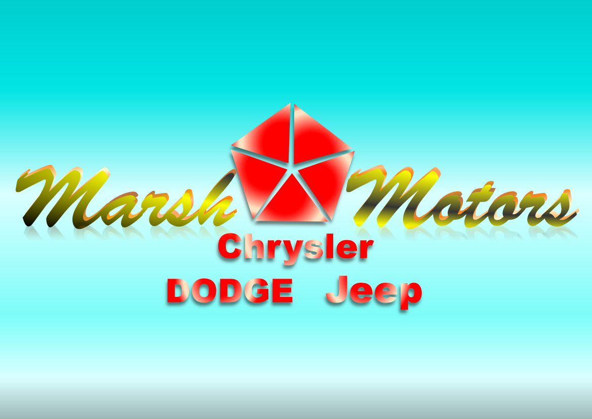 Logo Design by Heri Susanto - Entry No. 8 in the Logo Design Contest Marsh Motors Chrysler Logo Design.