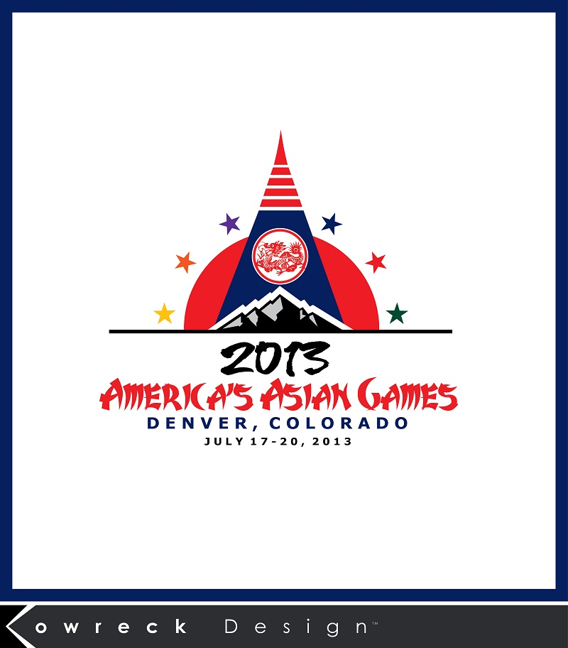 Logo Design by kowreck - Entry No. 21 in the Logo Design Contest New Logo Design for America's Asian Games.