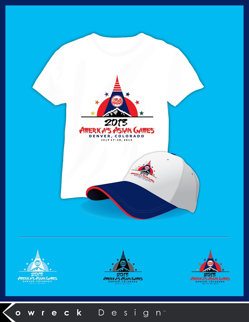 Logo Design by kowreck - Entry No. 22 in the Logo Design Contest New Logo Design for America's Asian Games.